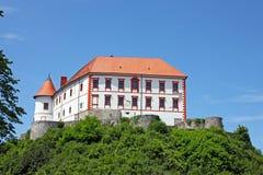 Château d'Ozalj, Croatie Photographie stock