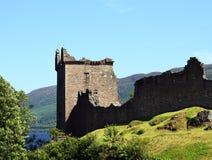 Château d'Urquhart - Loch Ness Images libres de droits