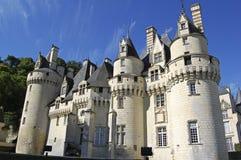 Château d'Ussé Royaltyfri Foto