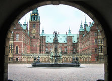 Château Danemark de Frederiksborg Photos libres de droits