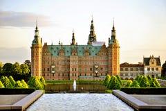 château Danemark Frederiksborg Hillerod Images libres de droits