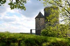 Château dans Bedzin, Pologne Image stock