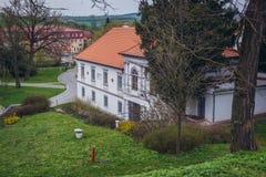 Château dans Bilovice Photo stock