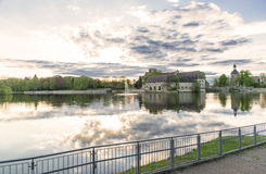 Château dans Flechtingen, Allemagne Images libres de droits