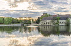 Château dans Flechtingen, Allemagne Image libre de droits