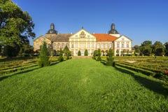 Château dans Hundisburg, Allemagne Images libres de droits