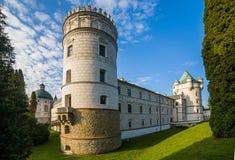 Château dans Krasiczyn Photos libres de droits