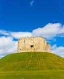 Château dans la tour de York Cliffords Images libres de droits