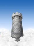Château dans le ciel Photos libres de droits