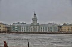 Château dans le St Petersbourg Images libres de droits