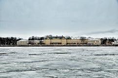 Château dans le St Petersbourg Photographie stock libre de droits