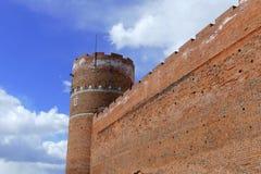 Château dans le ³ W 2 de Ciechanà images libres de droits