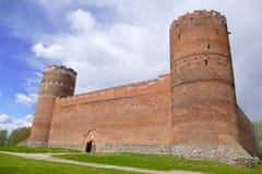 Château dans le ³ W de Ciechanà photos libres de droits