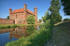Château dans Lidzbark Warminski Images libres de droits