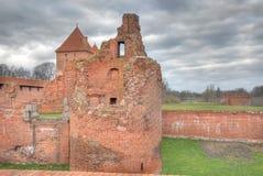Château dans Malbork Photographie stock libre de droits