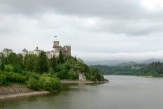 Château dans Niedzica, Pologne Image libre de droits