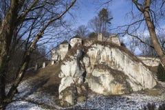 Château dans Ojcow Photo stock