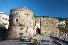 Château dans Pizzo, Italie, Calabre photos stock