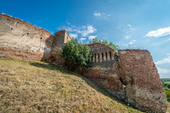 Château dans Slimnic, Roumanie photos stock