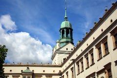 Château dans Szczecin Images libres de droits