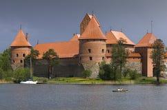 Château dans Trakai Images libres de droits