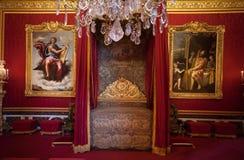 Château de凡尔赛,法国国王的室  库存照片