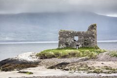 Château de Ballinskelligs, anneau de Kerry Photos stock