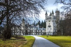 Château de Balmoral Aberdeenshire, Ecosse, R-U image stock