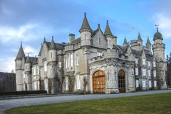 Château de Balmoral Aberdeenshire, Ecosse, R-U images libres de droits