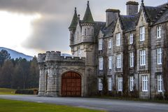 Château de Balmoral Aberdeenshire, Ecosse, R-U photo stock