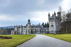 Château de Balmoral Aberdeenshire, Ecosse, R-U photographie stock