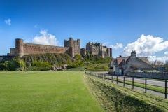 Château de Bamburgh photos stock