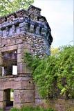 Château de Bancroft, ville de Groton, le comté de Middlesex, le Massachusetts, Etats-Unis Images libres de droits