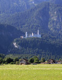 CHÂTEAU DE BAVARIAS NEUSCHWANSTEIN Photos stock