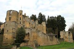Château de Beaufort Photos stock
