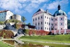 Château de Becov NAD Teplou, Bohême, République Tchèque Images libres de droits