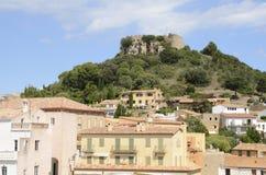 Château de Begur Photo libre de droits