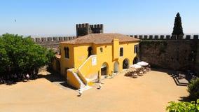 Château de Beja, Portugal images libres de droits