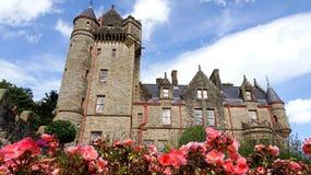 Château de Belfast Photos stock