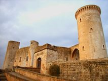 Château de Bellver Image stock