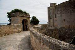 Château de Bellver, Palma de Mallorca Photo stock