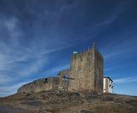 Château de belmonte, Portugal image libre de droits