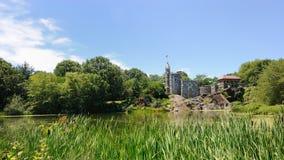 Château de belvédère dans Central Park photo libre de droits