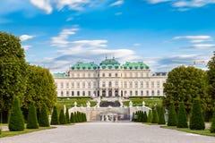 Château de belvédère jardins à Vienne Autriche photos libres de droits