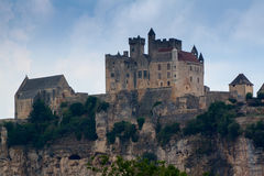 Château de Beynac. A 12th century castle located in the Dordogne département of France Royalty Free Stock Images