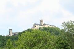Château de Bezdez photo libre de droits