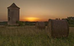 Château de Biron, dans le périgord Image stock