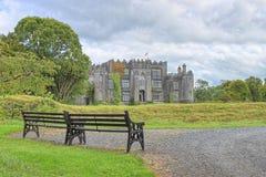 Château de birr en Irlande. Image stock