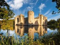 Château de Bodiam en Angleterre Image stock