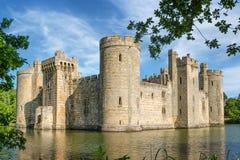 Château de Bodiam en Angleterre Photographie stock